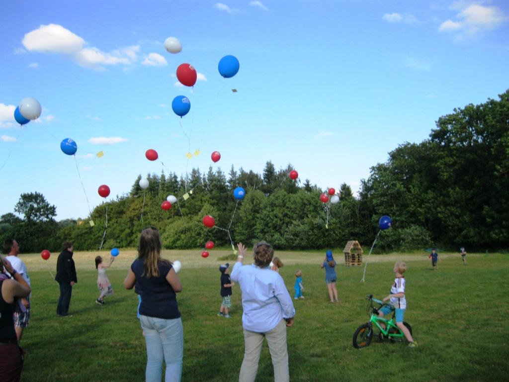 Kindervogelschiessen und Gemeindefest