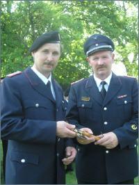 Jürgen Anders (links)